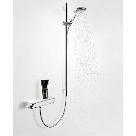 Hansgrohe Select Ecostat Shower thermostat, surface-mounted, 13161