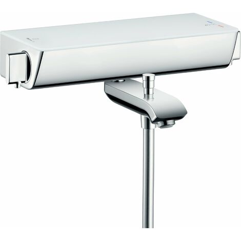 Hansgrohe Select Ecostat Termostato de baño de superficie, 13141, color: cromado - 13141000