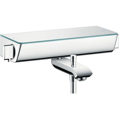 Hansgrohe Select Ecostat Termostato de baño de superficie, 13141, color: cromado - 13141000