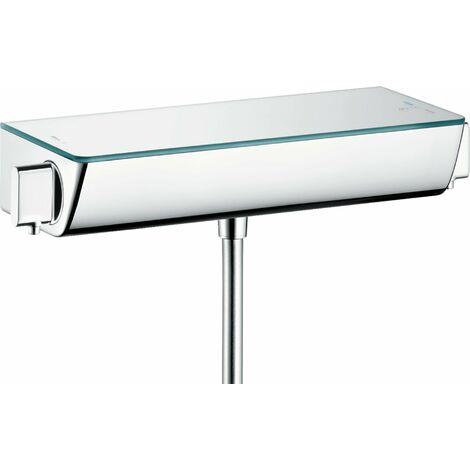 Hansgrohe Select Ecostat Termostato de ducha, montaje en superficie, 13161, color: cromado - 13161000