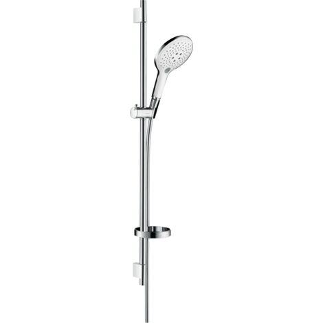 Hansgrohe Set de douche Blanc et Chrome Raindance Select S 27803400 | Blanc et chrome