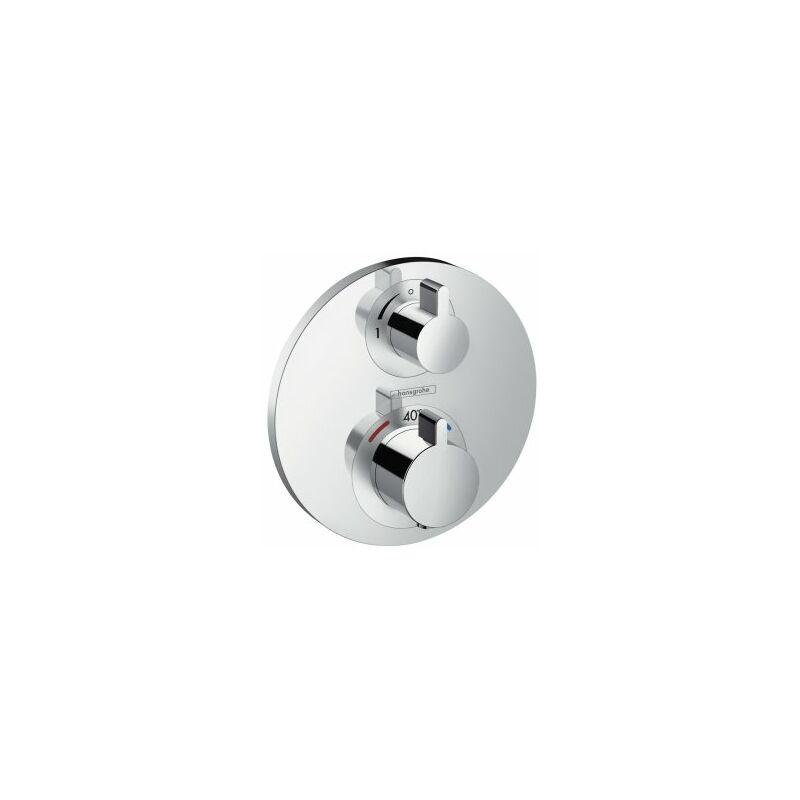Hansgrohe 15701000/Ecostat Set de finition pour S Chrom/é pour mitigeur thermostatique encastr/é avec robinet darr/êt
