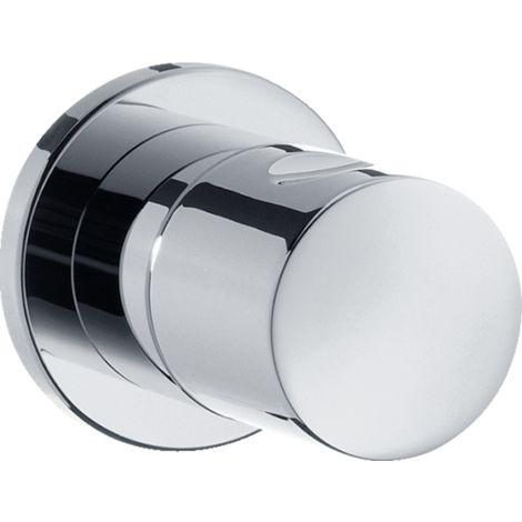 Hansgrohe Shower Tablet Shut-off valve S, flush-mounted, chrome - 15972000