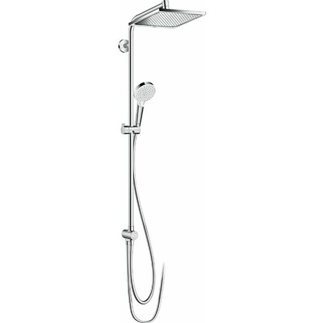 HANSGROHE Showerpipe 240 1jet Reno EcoSmart chromé Crometta E