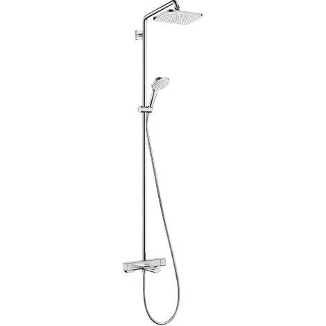 HANSGROHE Showerpipe 280 1jet avec mitigeur baignoire thermostatique chromé Croma E