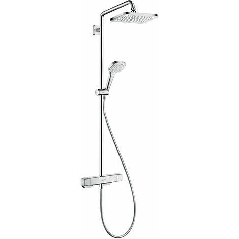 HANSGROHE Showerpipe 280 1jet avec mitigeur thermostatique chromé Croma E