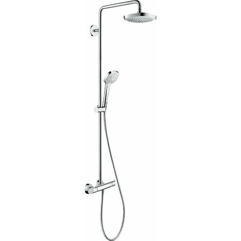 Hansgrohe Showerpipe Croma Select E 180 2jet EcoSmart (27257400)