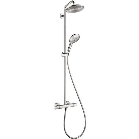 Hansgrohe Showerpipe Raindance Select 240 EcoSmart, chromé (27116000)
