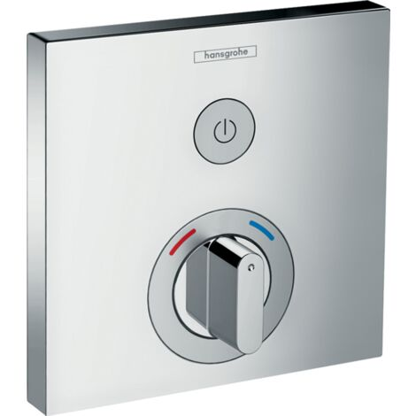 Hansgrohe ShowerSelect - Concealed Mixer for 1 Outlet Chrome
