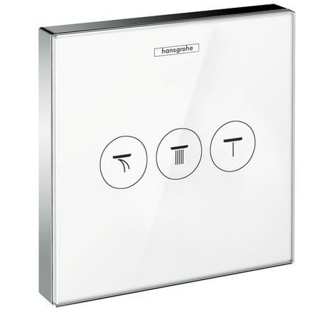 Hansgrohe ShowerSelect concealed valve for 3 outlets (15736400)