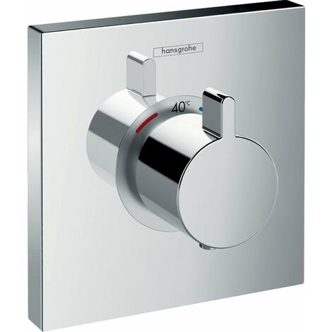 Hansgrohe SHOWERSELECT E Set de finition pour mitigeur thermostatique encastré haut débit (15760000)