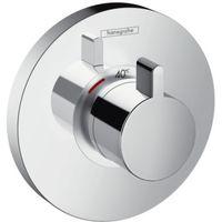 Hansgrohe SHOWERSELECT S - Set de finition pour mitigeur thermostatique encastré haut débit (15741000)