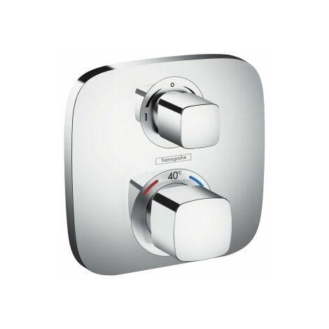 Hansgrohe ShowerTablet Ecostat E Termostato, empotrado, 2 consumidores, cromado - 15708000