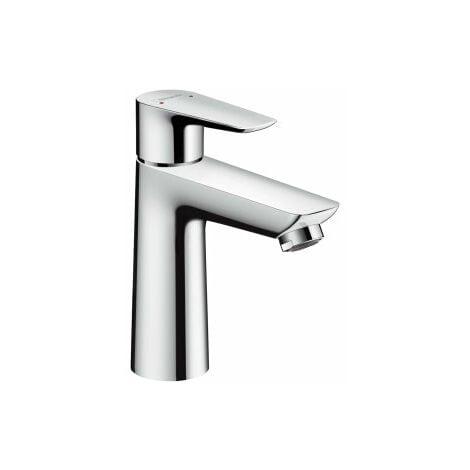 hansgrohe Talis E mezclador monomando de lavabo 110 CoolStart, residuos emergentes, proyección de 112 mm, color: cromado - 71713000