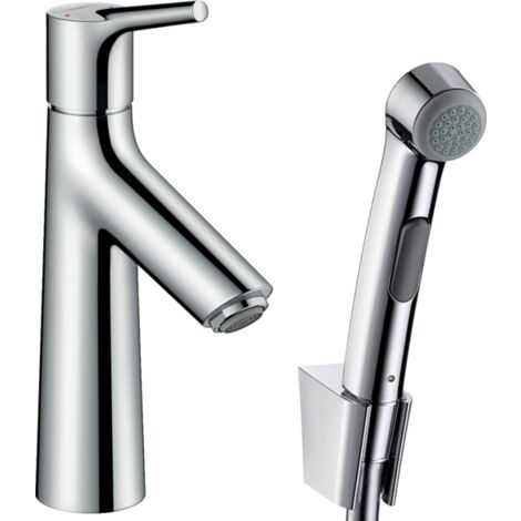 Hansgrohe Talis S Single Lever Basin Mixer with Bidette Hand