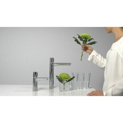 Hansgrohe Talis Select E Mezclador de lavabo 110, sin desagüe automático, 112mm de proyección - 71751000