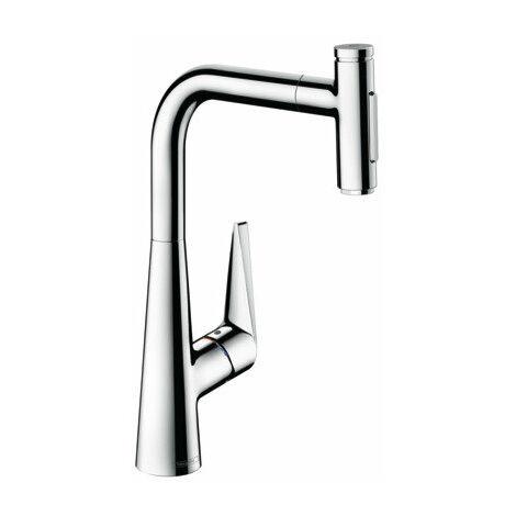 Hansgrohe Talis Select M51 Monomando de cocina 300, ducha extraíble, 2jet, sBox, color: cromado - 73867000