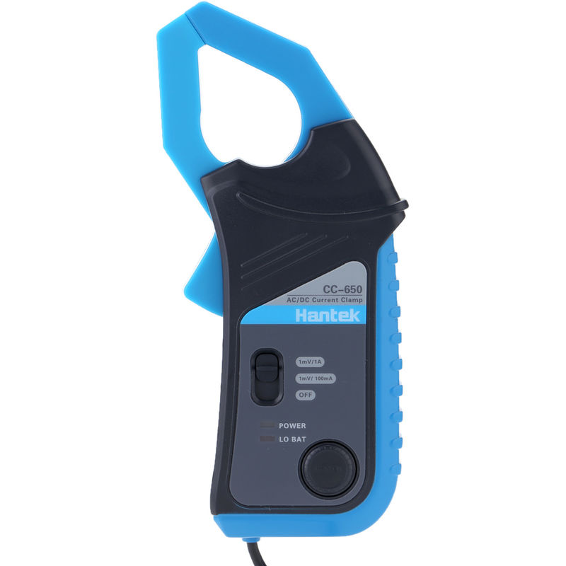 Image of CC-650 AC/DC Current Clamp Meter 400Hz Bandwidth 20mA to 650A DC with BNC Connector - Hantek