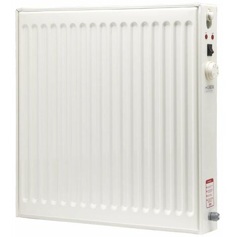 HÃœBER Energy Efficient Oil Filled Electric Radiator, Wall Mounted Lot 20 Compliant Heater