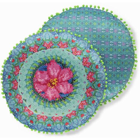 Happiness Decorative Pillow ADVENTURES 55 cm Polyvelvet