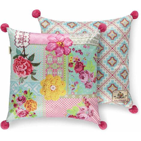 Happiness Decorative Pillow PARADISE 48x48 cm Polyvelvet