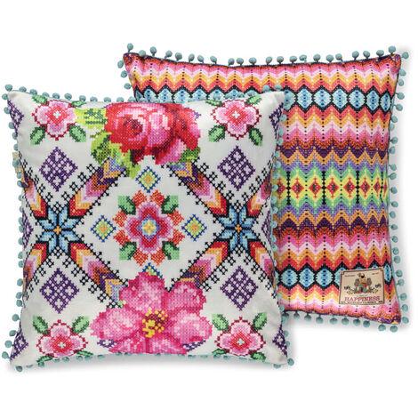 Happiness Decorative Pillow YUCATAN 48x48 cm Polyvelvet