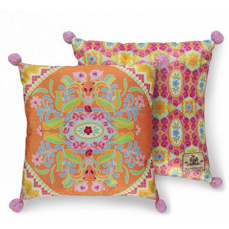 Happiness Decorative Pillow ZABRINA 48x48 cm Polyvelvet