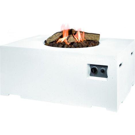 HAPPY COCOONING Feuertisch Angolo Gartenfeuer mit Gas
