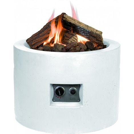 HAPPY COCOONING Feuertisch Tondo Gartenkamin mit Gas
