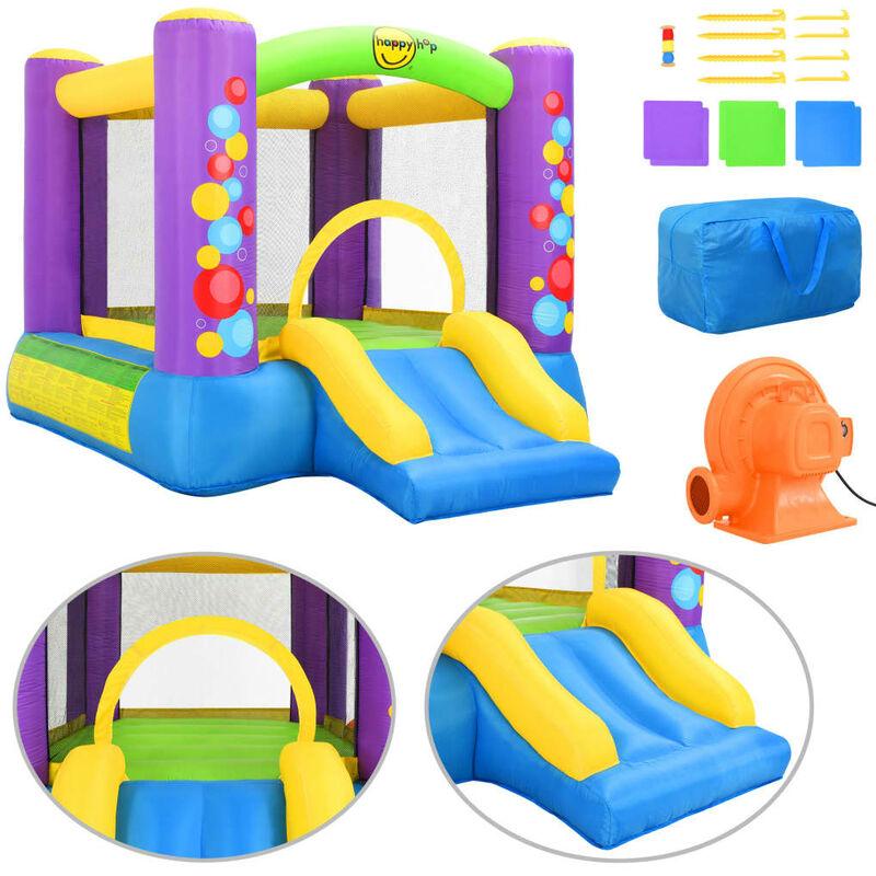 Happy Hop Castello Gonfiabile con Scivolo in PVC 260x210x160 cm