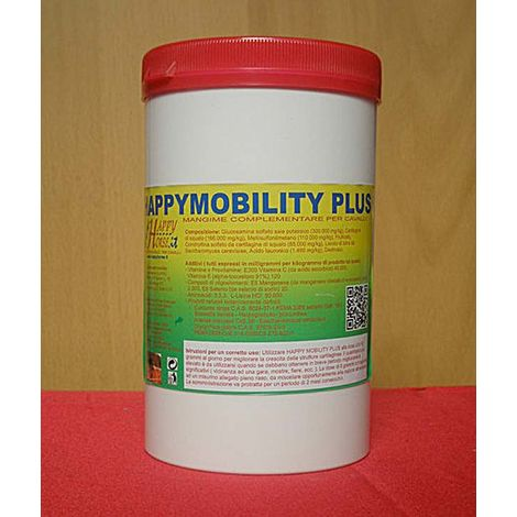 HAPPY MOBILITY PLUS supplement for joint and cartilage health in competition horses 600g