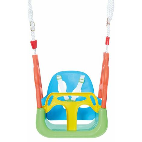 Happy People 3-in-1 Swing With Belt Plastic - Multicolour