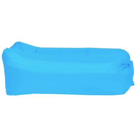 Happy People Matelas gonflable Lounger To Go 2.0 Bleu 100 kg