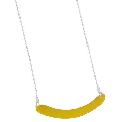 Happy People Set de columpio EVA amarillo - Amarillo
