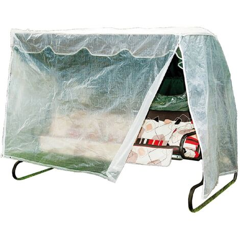 Happy People Universal Protection Cover for Garden Swing 210x150x139cm - Transparent