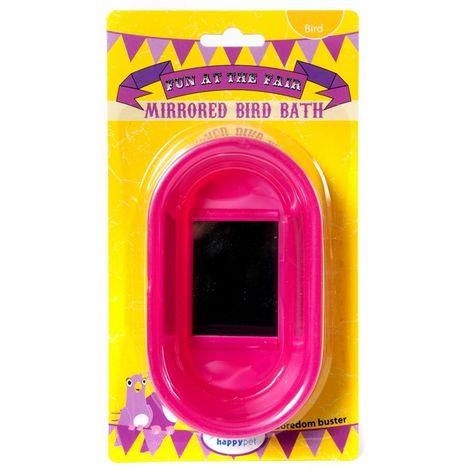 Happy Pet Mirrored Bird Bath x 6 (45958)