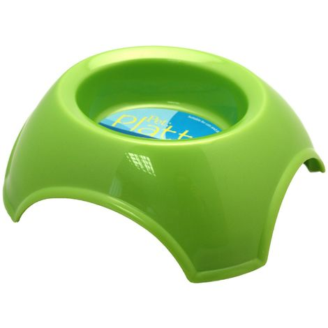 Happy Pet Products Pet Platter Dog Bowl (One Size) (Green)