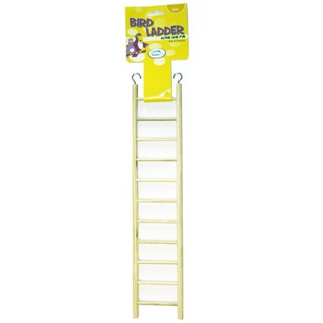 Happy Pet Wooden Bird Ladder 11 Step x 1 (45953)
