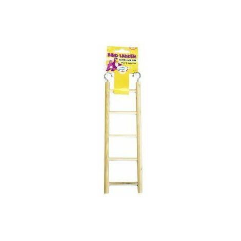 Happy Pet Wooden Bird Ladder 5 Step - 42748