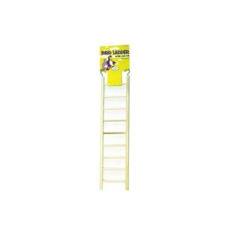 Happy Pet Wooden Bird Ladder 9 Step x 1 (42749)
