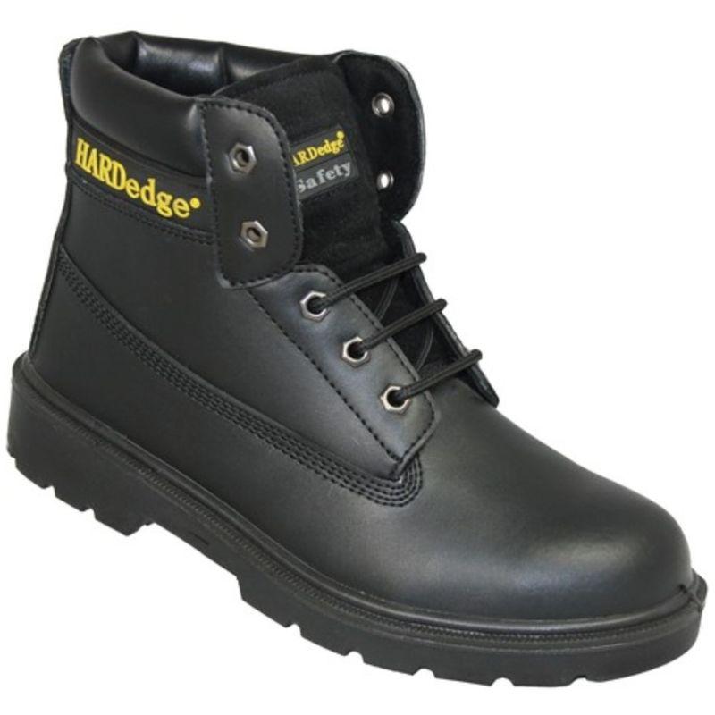 Image of HardEdge Mens 6 Inch Safety Boot (10 UK) (Black)