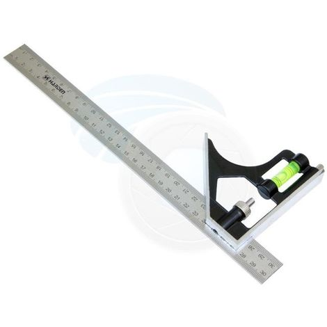 HARDEN metric combination square, try square, 300 mm (HAR 58720)