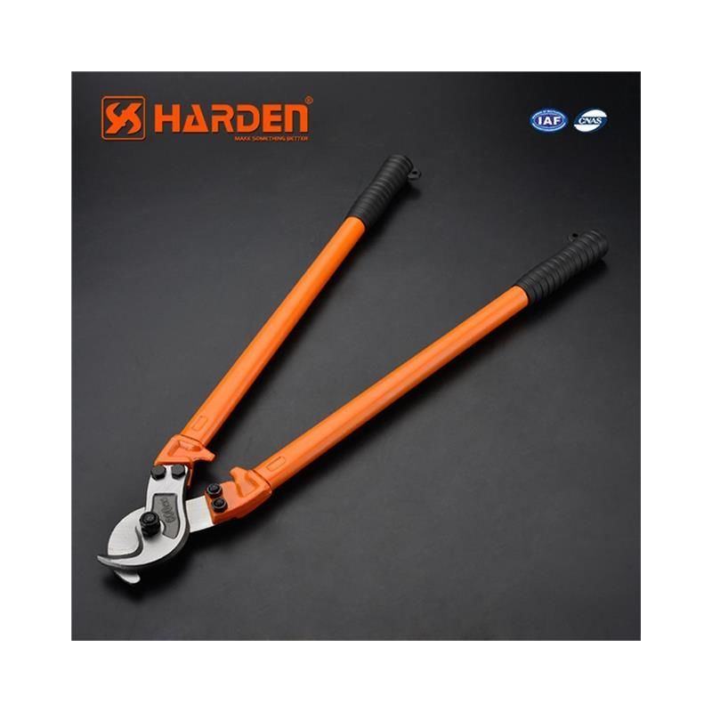 Image of professional heavy duty wire cable cutter 1050 mm long - Harden