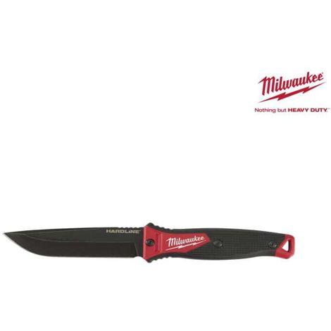 Hardline MILWAUKEE knife - 125 mm AUS-8 fixed blade 4932464830