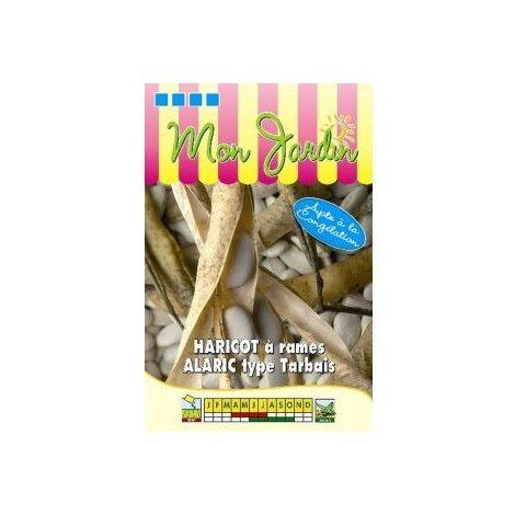 Haricot à rames Alaric - type Tarbais - 100g