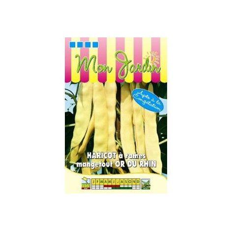 Haricot à rames beurre Or du Rhin - 100g