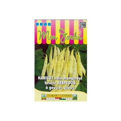 Haricot nain mangetout beurre Serpedor à gousses plates - 70g