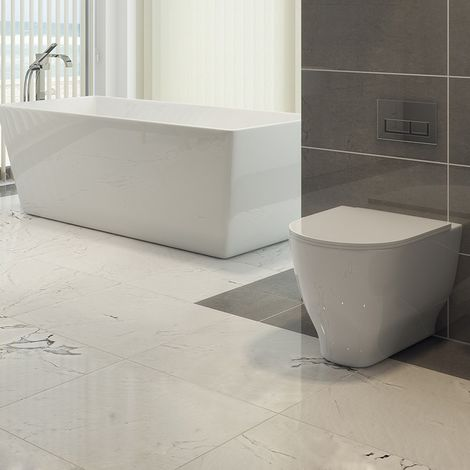 Harmony Back to Wall Toilet with Soft Close Seat