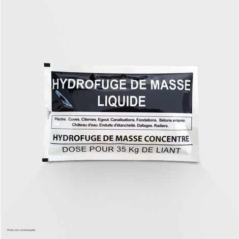 Hydrofuge de masse en dose - Hydrofuge de masse dose 100 g - Harmony Béton