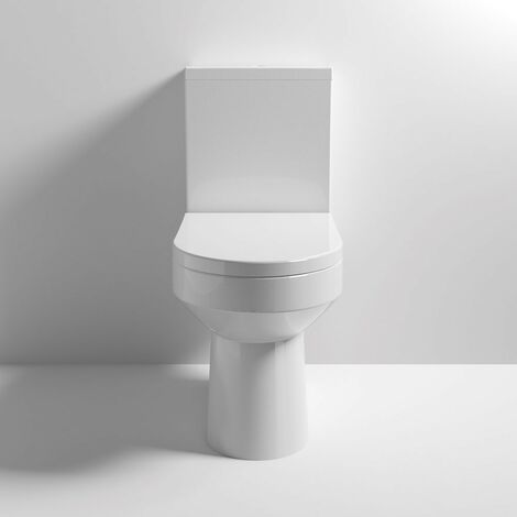Harmony Close Coupled Toilet & Soft Close Seat